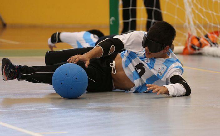 Goalball: la Selección Argentina se prueba en Chile