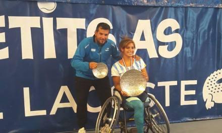 Tenis adaptado | El gran momento de Antonella Pralong: no pierde un partido desde octubre