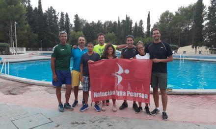 Natación: Daniela Giménez y Sergio Zayas, participaron de un acto solidario en Mendoza