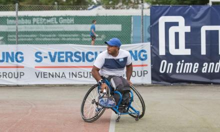 Tenis adaptado: Ledesma llegó hasta semifinales en Suiza