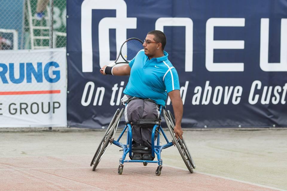 Tenis adaptado: Ledesma, semifinalista en Suiza
