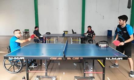 Tenis de mesa adaptado: actividad de desarrollo en Córdoba