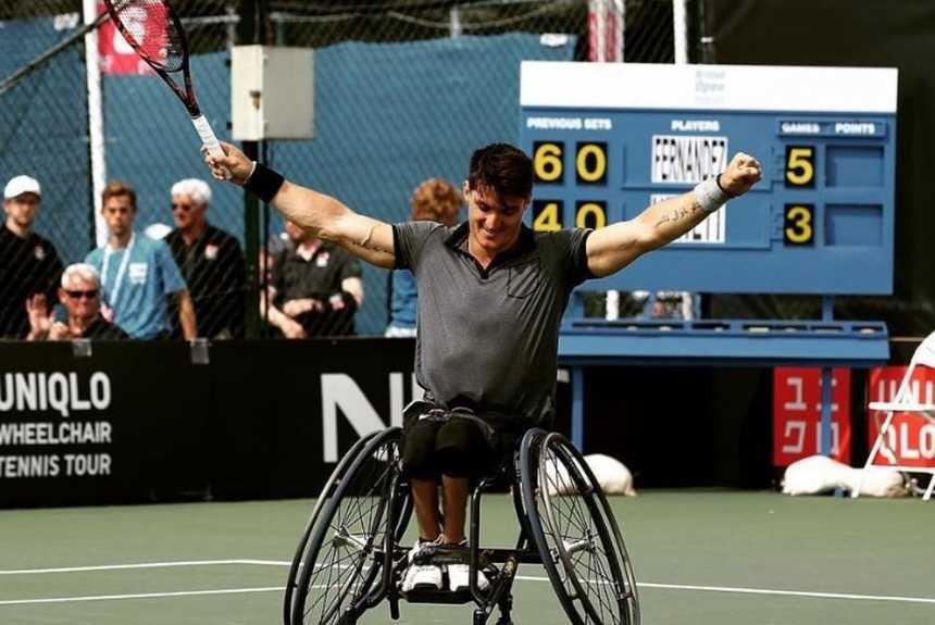 Tenis adaptado: ¡Gustavo Fernández, finalista en Estados Unidos!