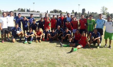 Fútbol: la Selección de síndrome de down y Los Halcones, juntos en Ezeiza