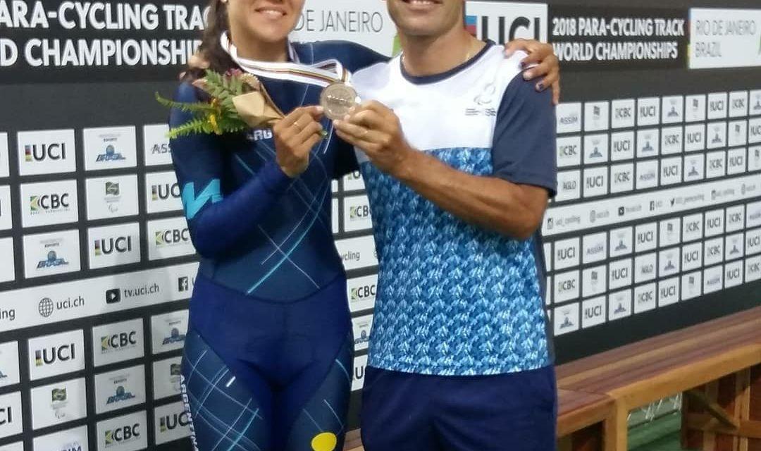 Mariela Delgado: Medalla de bronce en el Mundial de Paraciclismo