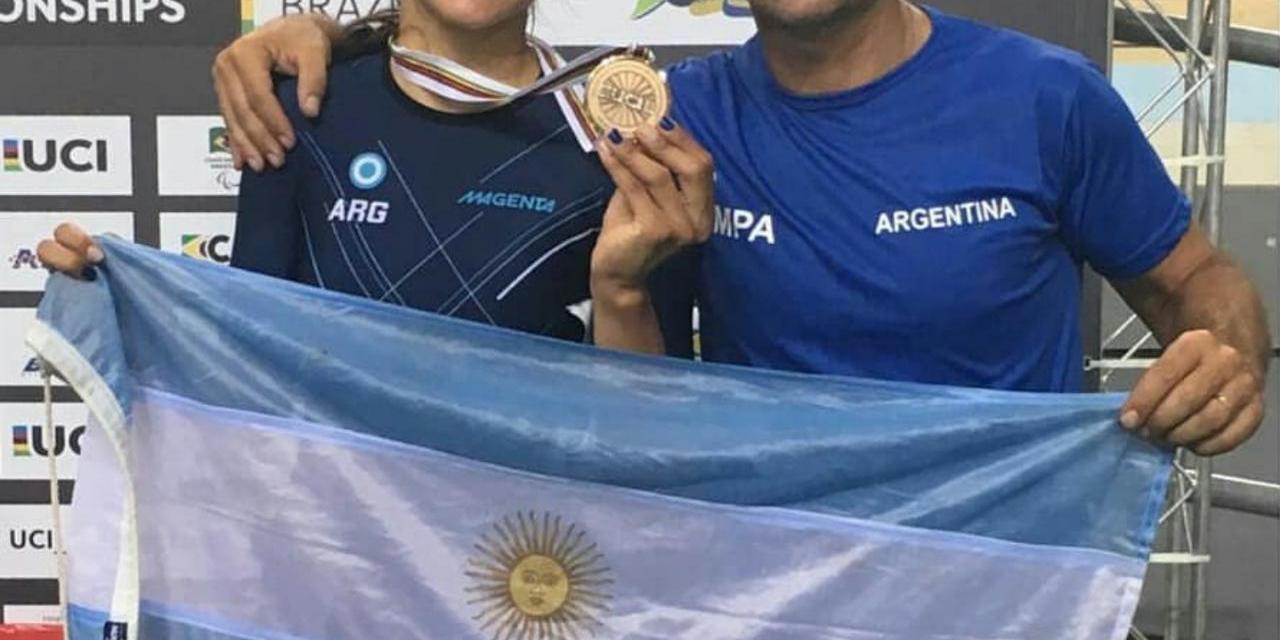Paraciclismo: ¡otra medalla de bronce mundial para Mariela Delgado!