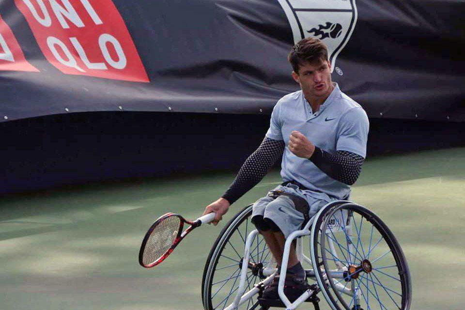 Tenis adaptado: buen arranque para Fernández en Estados Unidos