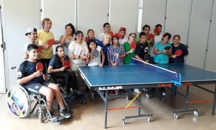 Tenis de mesa adaptado: actividad de desarrollo en Florencio Varela