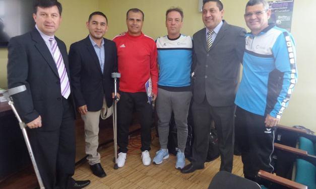 Fútbol PC: Osvaldo Hernández, invitado de lujo en Ecuador