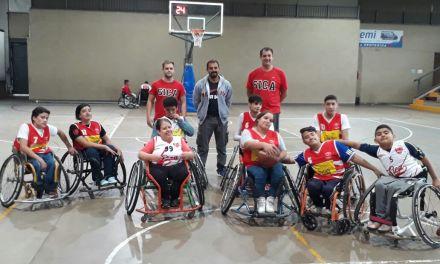 Básquet adaptado: el entrenador Mauro Varela y un mensaje alentador para los juveniles de SICA