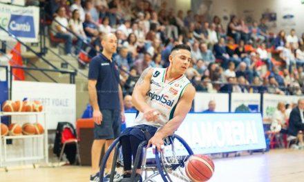 Básquet sobre silla de ruedas: el Briantea de Esteche y Berdún, finalista en Italia