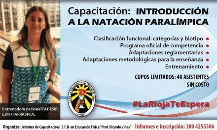 Natación: capacitaciones en La Rioja