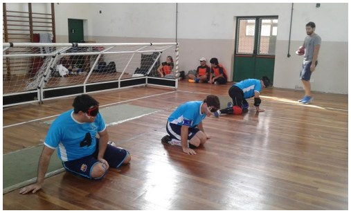 Torball: Rosell y San Miguel, punteros