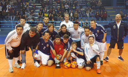 Futsal: la Selección Argentina de síndrome de down se concentró en Bolívar