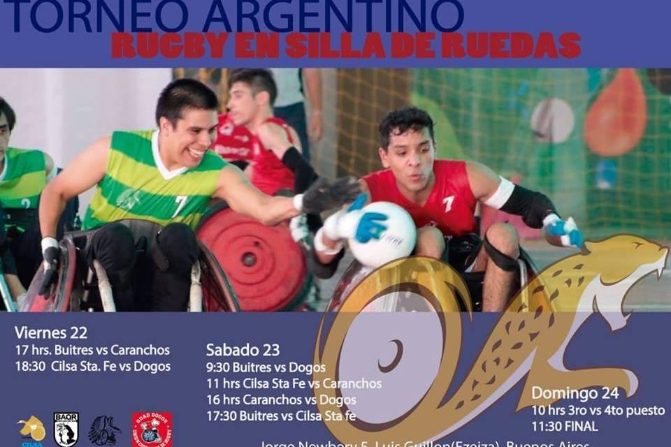 Quad rugby: se viene el torneo argentino