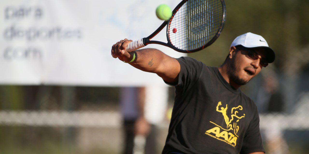 Tenis adaptado: cuatro argentinos en París