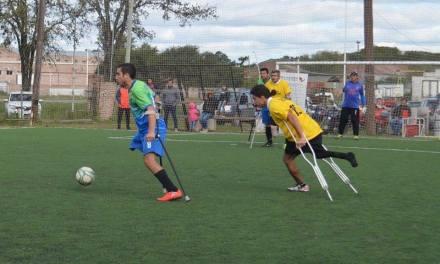 Fútbol de Amputados: La Liga Nacional comenzó a puro gol