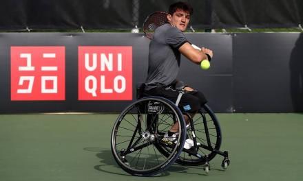 Tenis adaptado: Gustavo Fernández, semifinalista del British Open