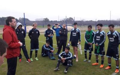 Fútbol 7: la Selección Argentina se concentró en Ezeiza