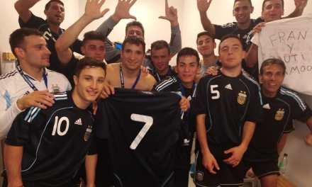 Fútbol: Los Halcones sumaron otra goleada en el Mundial
