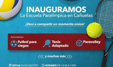 Cañuelas inaugura su escuela paralímpica