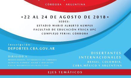 Se viene el 2° Congreso Internacional de Deporte Paralímpico y Adaptado en Córdoba