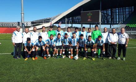 Fútbol: debut y victoria para Los Halcones en el Mundial