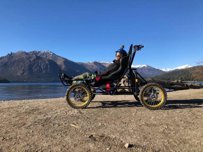 Trekking adaptado en Bariloche