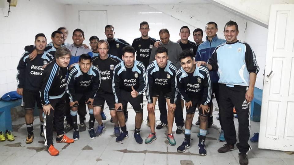Fútbol 7: Argentina se concentra en Villa Gessel y piensa en la Copa América