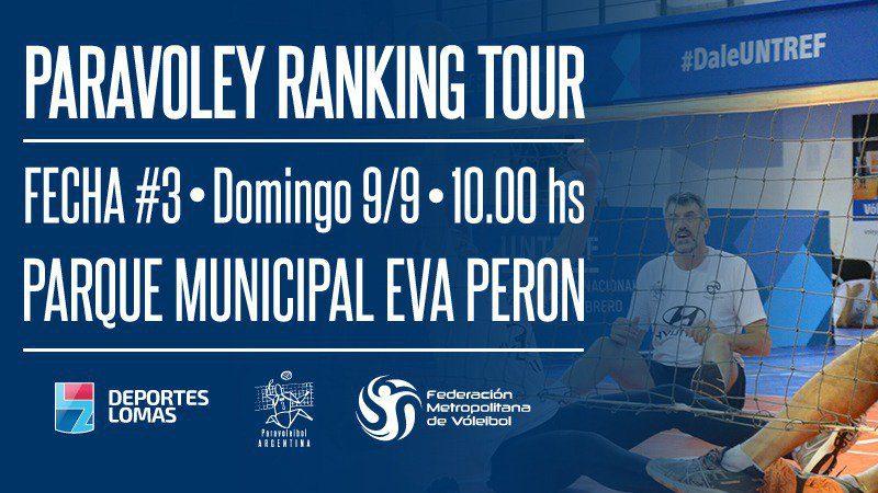 Paravóley: sigue el ranking tour