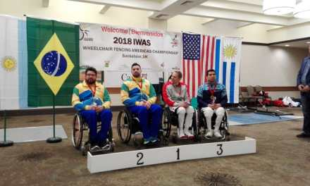 Esgrima paralímpica: Hugo Alderete, medalla de bronce en el Panamericano de Canadá