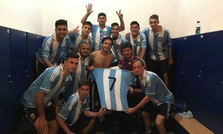 Fútbol 7: Argentina tuvo un debut a puro gol en la Copa América