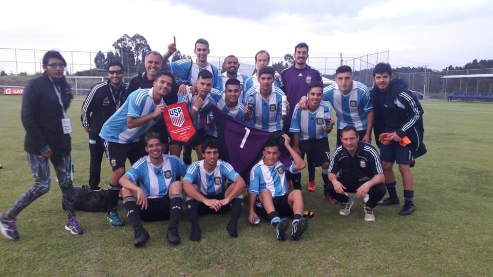 Fútbol 7: Argentina volvió a ganar y es semifinalista en Ecuador