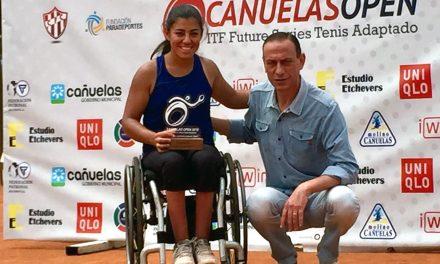 Tenis adaptado: Macarena Cabrillana, campeona del Cañuelas Open 2018