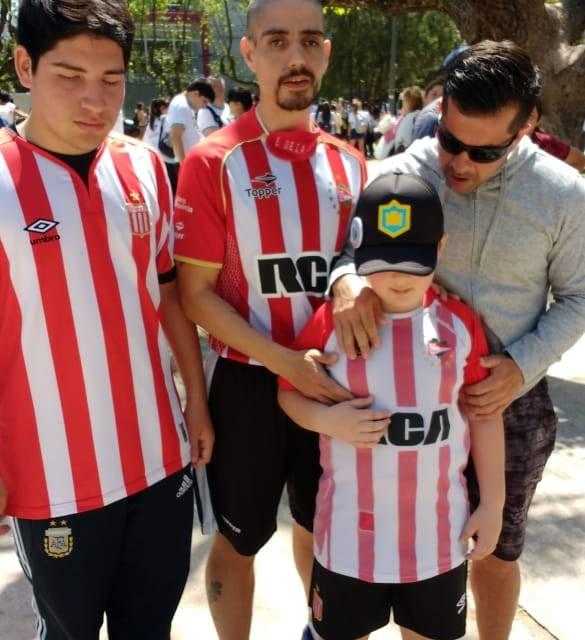 """Oviedo: """"La gente aprendió cómo tiene que llevar a un ciego si lo quiere ayudar"""""""