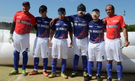 Fútbol para ciegos: Los Magos y un balance positivo en su debut