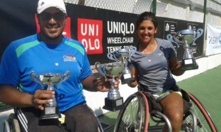 Tenis adaptado: Ledesma y Moreno, subcampeones en Brasil