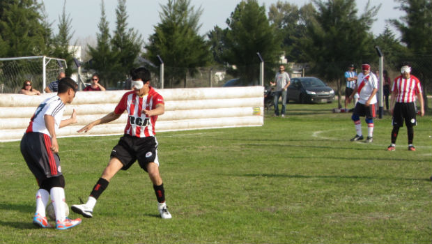 Fútbol para ciegos: se definen los finalistas de la Liga Nacional