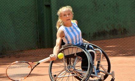 Tenis adaptado: Nicole Dhers jugará el Masters de Juniors