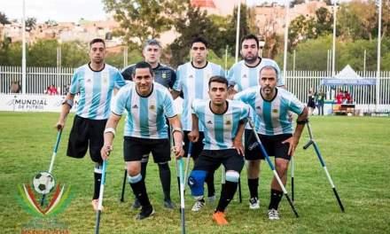 Fútbol para amputados: Argentina se despidió con una goleada en el Mundial