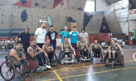 Quad rugby: Caranchos festejó en Córdoba