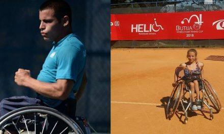 Tenis adaptado: Casco y Dhers siguen firmes en Chile