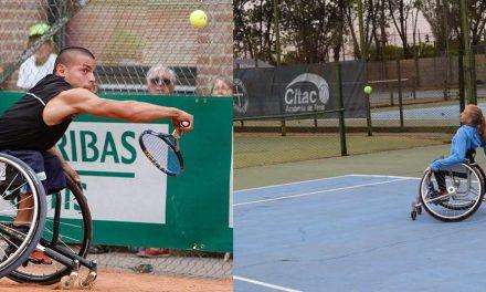 Tenis adaptado: Casco y Dhers, finalistas en Chile