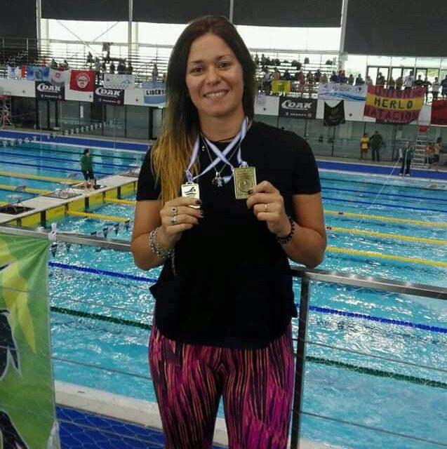 Natación: Diana Valentini brilló en el Masters Sudamericano