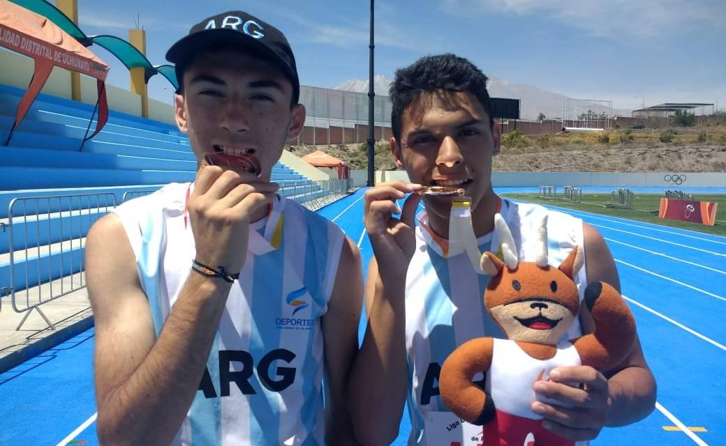 Atletismo: dos argentinos, medallistas en Perú