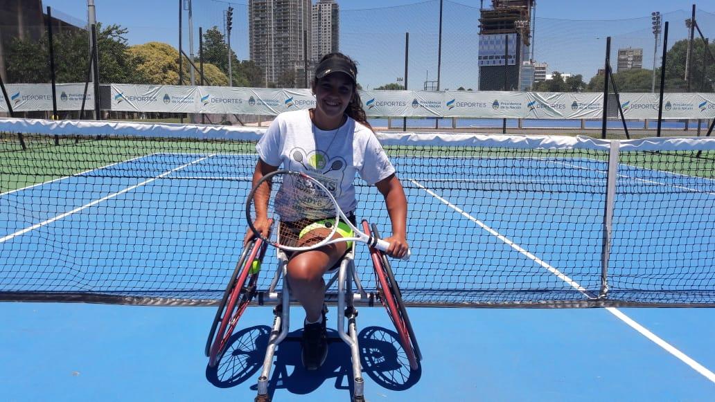 """Tenis adaptado   Florencia Moreno: """"En 2019 quiero ser top ten"""""""