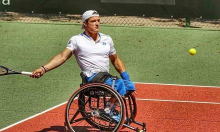 Tenis adaptado: Gustavo Fernández, firme en Australia