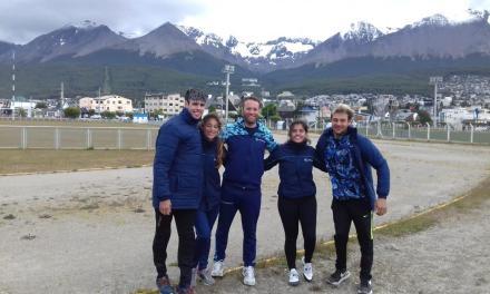 Atletismo paralímpico: pretemporada en Ushuaia