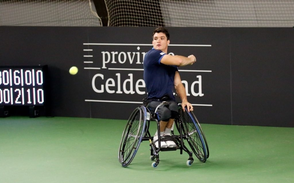 Tenis adaptado: Fernández se despidió de Rotterdam