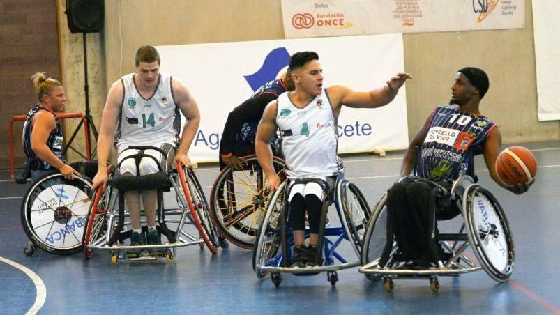 Básquet adaptado: el Albacete de Esteche se acerca a la punta en España
